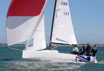 J70 & J80 National Championships, Royal Yacht Squadron Cowes Isle of Wight. June 14 -16 2013 Race 1 & 2 Photo Rick Tomlinson